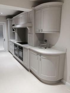 Twin Neff ovens with Induction hob above.