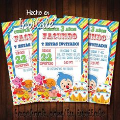 2nd Birthday Party Themes, 3rd Birthday, Personalized Invitations, Baby Party, Childrens Party, Birthday Invitations, Party Time, Baby Shower, Alonso