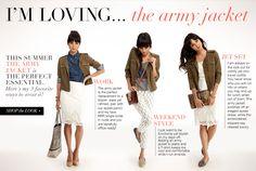 Rachel Roy - I'm Loving...The Army Jacket