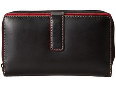 Lodis Accessories - Audrey SUV Deluxe Wallet W/ Removable Checkbook (Black) Checkbook Wallet