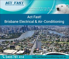 It is advised to get the servicing of your air conditioning system done on time rather than waiting for the last moment when the system breaks down completely. In this regard, Act Fast Electrical & Air Conditioning is the first choice of North Brisbane residents for repairs and servicing of ducted air conditioning system. Address : 48 Intrepid Court, Newport QLD 4020, Australia Phone No : 0405 781 414