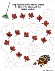 Our Preschool and Kindergarten Fall Math Worksheets are the perfect edition to any Autumn-theme math lesson! These free, printable worksheets are great for pre-math skills and addition/subtraction. Preschool Writing, Fall Preschool, Kindergarten Math Worksheets, Preschool Printables, In Kindergarten, Preschool Activities, Handwriting Activities, School Themes, Autumn Activities
