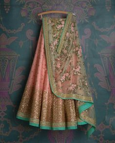 Peach Colour Net Fabric Party Wear Lehenga Choli Comes with matching blouse. This Lehenga Choli Is crafted with Embroidery This Lehenga Choli Comes with Unstitched Blouse Which Can Be Stitched Up to s. Net Lehenga, Indian Lehenga, Indian Gowns, Indian Attire, Cape Lehenga, Indian Wear, Lehenga Top, Party Wear Lehenga, Bridal Lehenga