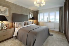 Visit Farndon Meadow, a stunning new Redrow development in Farndon, Cheshire. We have beautiful 4 bedroom homes available. Find your dream home today! 2 Bedroom House, Master Bedroom, Style At Home, Living Room Interior, Home Living Room, Bedroom Colors, Bedroom Ideas, Bedroom Designs, Bedroom Decor
