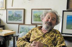 Kokas Ignác (1926-2009) Button Down Shirt, Men Casual, Mens Tops, Fashion, Moda, Dress Shirt, Fashion Styles, Fasion