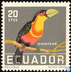 Ecuador - Tropical birds 1958