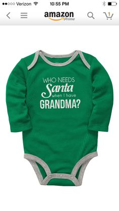 For my first grandson