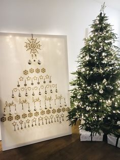Alternative Christmas Tree Idea ... Gorgeous! The White Company Christmas 2016 Preview