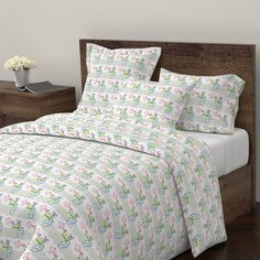 Wyandotte Duvet Cover featuring Surfing Waves MED525-laguna beach by drapestudio | Roostery Home Decor