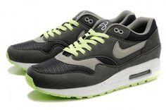 Nike Air Max 1 Men Grey/Lightgreen QASE2914