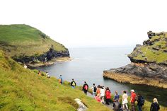 We offer a diverse social programme including beautiful coastal walks like this one