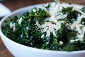 The delicious Tuscan Kale Salad served at True Food Kitchen restaurants.