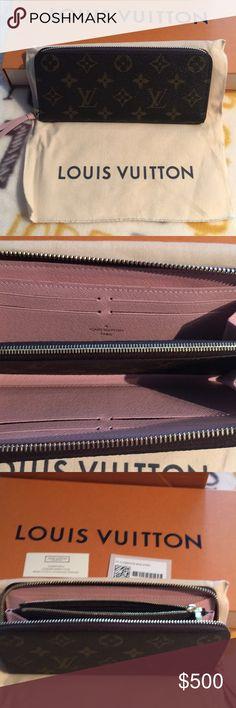 Louis Vuitton wallet Brand new Louis Vuitton Wallet with pink inside Louis Vuitton Bags Wallets