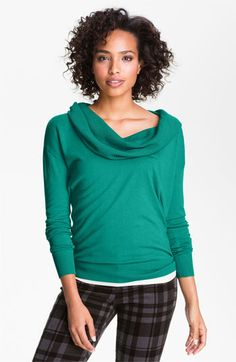 Caslon® Cowl Neck Sweater available at #Nordstrom