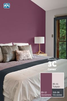 Interior Paint Colors For Living Room, Bedroom Interior, Bedroom Design, Bedroom Decor, Room Design Bedroom, Bedroom Wall Colors, Bedroom Color Schemes, Bedroom Deco, Home Decor Furniture