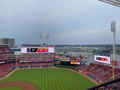 Reds Game, Baseball Field