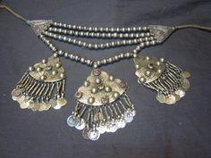 Kashmiri Necklace jewellery in German Silver - Saneens.com Online Shop