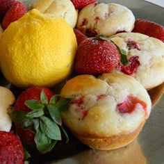 Strawberry Lemonade Muffins Allrecipes.com