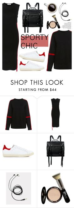 """Sporty Chic!"" by ifchic ❤ liked on Polyvore featuring Public School, Karen Walker, McQ by Alexander McQueen, It Cosmetics and contemporary"