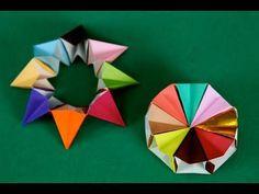 Ruota corona 8 pezzi origami Origami Magic Circle