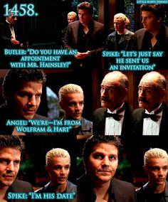 Spike annoying Angel.
