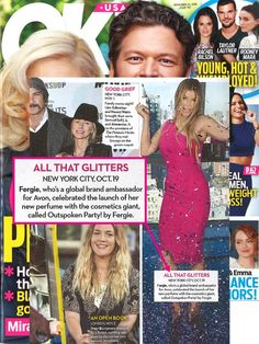 We love seeing Brand Ambassador Fergie featured in @starmagazine celebrating her new Outspoken Party! by Fergie fragrance.