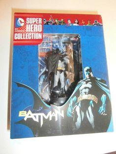 Eaglemoss Super Hero Figurine Collection #1 Batman and Magazine,Factory Sealed! #Eaglemoss Batman Collectibles, Batman The Animated Series, Batman Universe, Dc Heroes, Animation Series, Dc Comics, Action Figures, Seal, Magazine