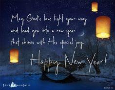 happy new years prayer