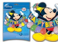 Kit decoración Mickey   TODO FIESTA