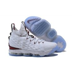 best sneakers e9e6c bbdd4 Cheap 2017 Men Nike Lebron 15 Basketball Shoes White Red Jordan Outlet, Nike  Outlet,