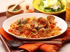 旬のあさりでトマトパスタ、ボンゴレ・ロッソのレシピ