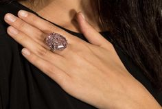 @sothebys : On April 4th in #HongKong, Sotheby's set a new world auction record for any #diamond or any jewel when The CTF Pink Star diamond sold for $71.2 million to Hong Kong jeweller Chow Tai Fook. The 59.60-carat oval mixed-cut Fancy Vivid Pink and Internally Flawless diamond also set a new record for any work ever auctioned in Asia.  #mazzucchellis #jeweller #jewellery #diamond #diamonds #diamondring #pink #pinkdiamond #pinkdiamonds #pinkstardiamond #diamondfacts
