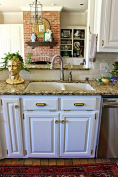 Dimples and Tangles: KITCHEN REFRESH MAKEOVER REVEAL!