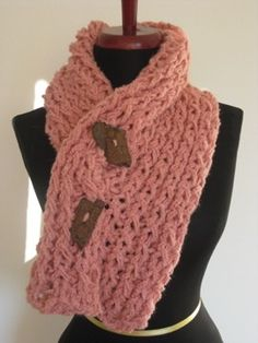 Hand Knitted Neckwarmer Scarflette Cowl Neck in by LunaPortenia, $42.00