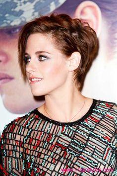 kristen stewart short hairstyles   i-HairStyles   HairStyle   2014 ...