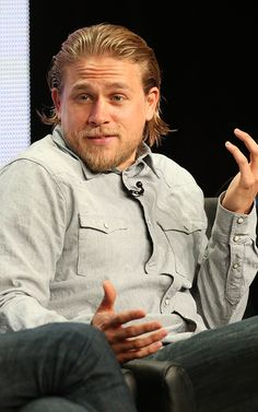 The man who almost played Christian Grey in 50 Shades of Grey has been cast as the hottest King Arthur to ever exist. We're talking about Charlie Hunnam, former Sons of Anarchy star, blond bombshell and our new Hollywood crush.