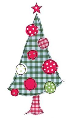 Spotty Festive Tree dotsandspots.co.uk. Més targetes: http://dotsandspots.co.uk/28-christmas-cards