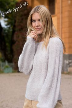 (18) Tussa E-post :: Vårens strikkeprosjekt & Gratis oppskrift Spiral, Turtle Neck, Pullover, Sweaters, Store, Inspiration, Fashion, Womens Fashion, Threading