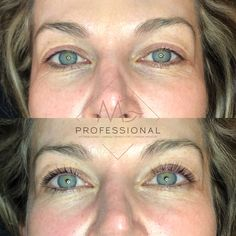www.mgprofessional.co.za  Lash Lift & Tint before and after.