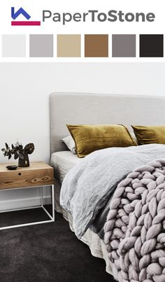 Bedroom color palette - black cobalt-blue dark-gold dark-grayish-gamboge