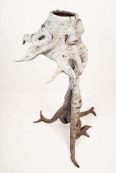 Christopher David White - Unknown 1, ceramic sculpture