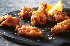 These ultimate crispy chicken wings are baked, not fried, and they can't be beat! Serve them plain, Buffalo-style or with Barbecue sauce. Photo by Jodi Pudge.
