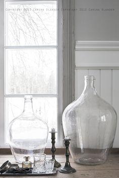 Made In Persbo: Glas i min inredning...
