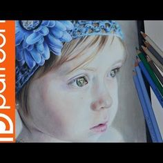 Little girl in Colored Pencil w/ voiceover | Lisa Clough - Lachri Fine Art on Patreon