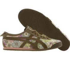 Asics Onitsuka Tiger Womens Mexico 66 shoes in small susanna and khaki