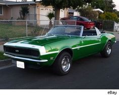 """""""67"""" Chevy Camaro. I was determined to get a Camaro when I got old enough.  Never got one. :/"""
