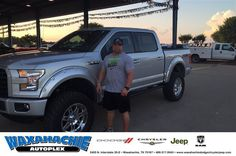 https://flic.kr/p/J9ES9E | Happy Anniversary to Rebecca on your #Ford #F-150 from Danny Bledsoe at Waxahachie Dodge Chrysler Jeep! | deliverymaxx.com/DealerReviews.aspx?DealerCode=F068