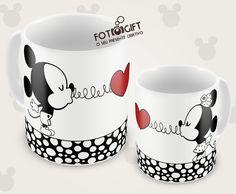 Minnie, Mug Cup, Mug Designs, Decoration, Mugs, Tableware, Glass, Gift, Kitchen