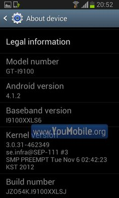 Samsung GALAXY S2 Android 4.1.2 Jelly Bean Firmware Pre-release [Screenshots + Video] | YouMobile