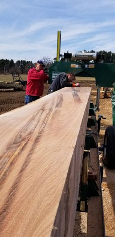 A great morning at the mill, Kenny #hm126 #sawmill #wood #woodlandmills #discoverthewoodland #lumber #diy Bandsaw Mill, Building A Shed, Woodland, Woodworking, Diy, Woodwind Instrument, Portable Saw Mill, Bricolage, Do It Yourself